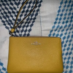Coach Bags - Coach Wristlet never used